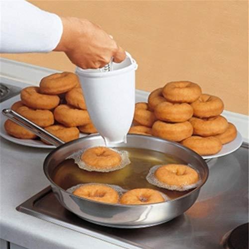 Junnire Donut Doughnut Batter Dispenser Home Kitchen DIY Baking Tools Candy Making Molds