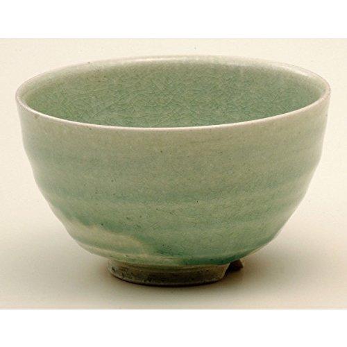 Shigaraki Ware Green Glaze Matcha Bowl 3-2702