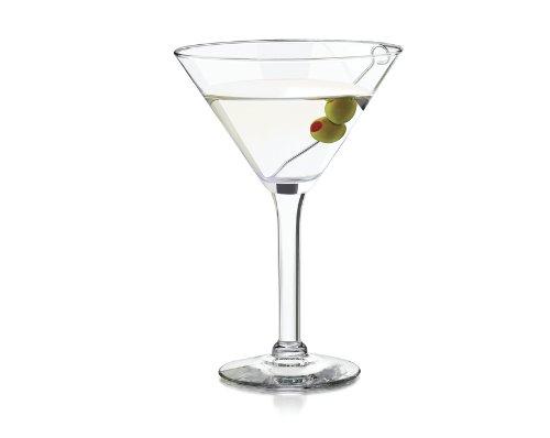 Libbey 10-Ounce Preston Martini Glass Clear 4-Piece