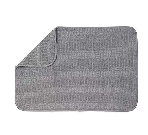 XXL Dish Mat 24 x 18 LARGEST MAT Microfiber Dish Drying Mat Super absorbent by Bellemain