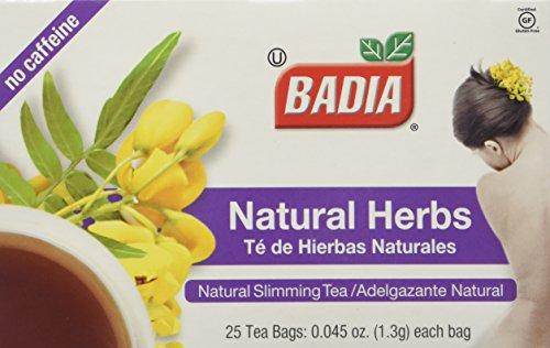 Badia Natural Herb Tea Total 100 individual tea bags