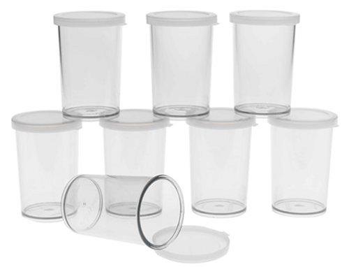 Cuisipro Donvier Yogurt Maker Jars Set of  8