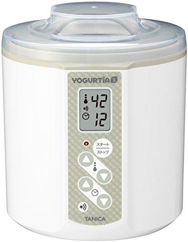 TANICA Yogurt Maker YOGURTiAS YS-01W White