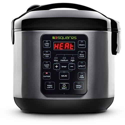 TIM3 MACHIN3 New 2017 Model 3RC-3050 20-Cup4-Quart Rice Cooker Slow Cooker Yogurt Maker Food Steamer