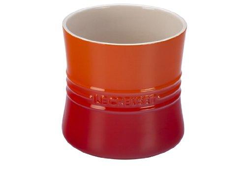 Le Creuset Stoneware 2 34-Quart Utensil Crock Flame