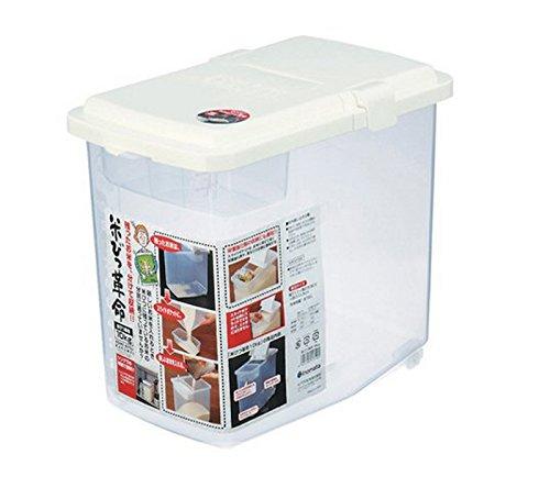 JapanBargain Plastic Kome Bitsu Rice Storage Container 22 lbs