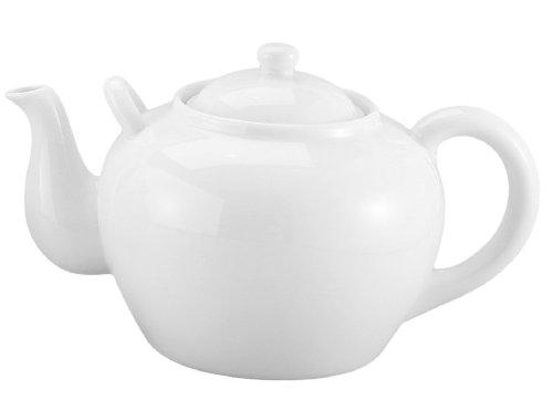 Harold Imports 75-Ounce Capacity Teapot White