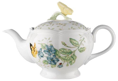 Lenox Butterfly Meadow Teapot with Lid
