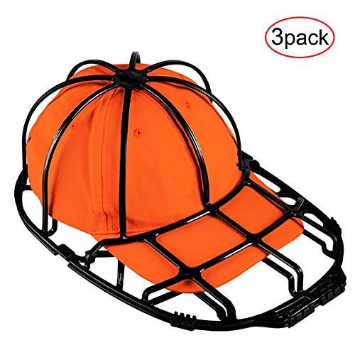 3 Pack Baseball Hat Washer for Washing MachineHat Cleaner Frame Cap Washer Holder Hat Rack for Adult and Kids Baseball Caps