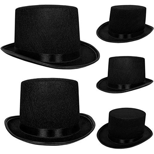 Top Hat Black Felt  One Size Magician Hat Costume  DIY Black Size One Size