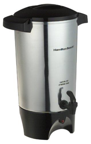 Hamilton Beach 40515 42-Cup Coffee Urn Silver