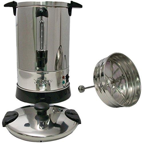 Nesco CU-30 Professional Coffee Urn 68-Liter Stainless Steel