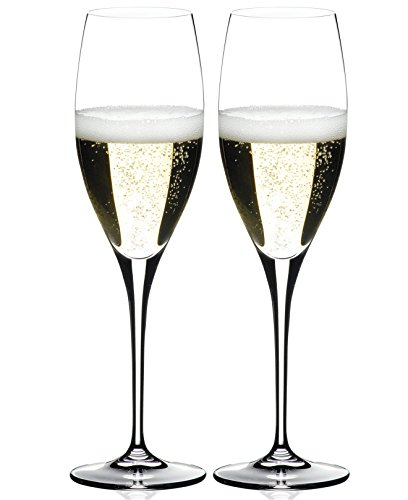 Riedel Heart to Heart Champagne Glasses Set of 2