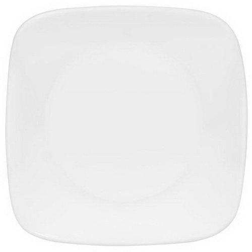 CORELLE Square Pure White 6-12 Bread Butter Plate