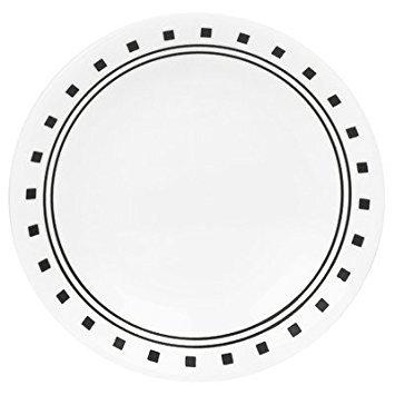Corelle Livingware City Block 6-34 Bread Butter Plate Set of 4