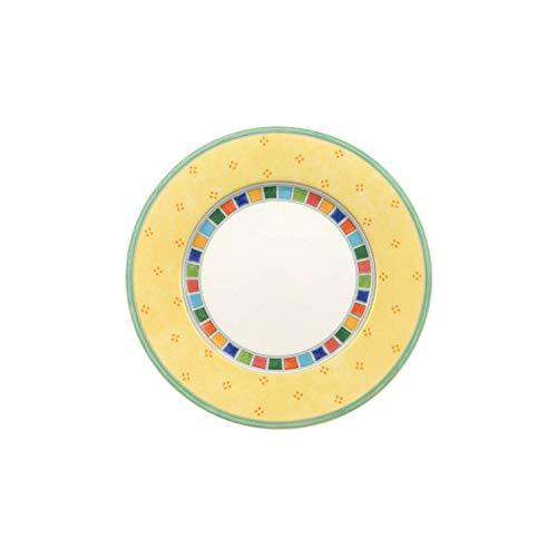 Villeroy Boch 1013602660 Twist Alea Limone Bread Butter Plate 65 in WhiteYellow
