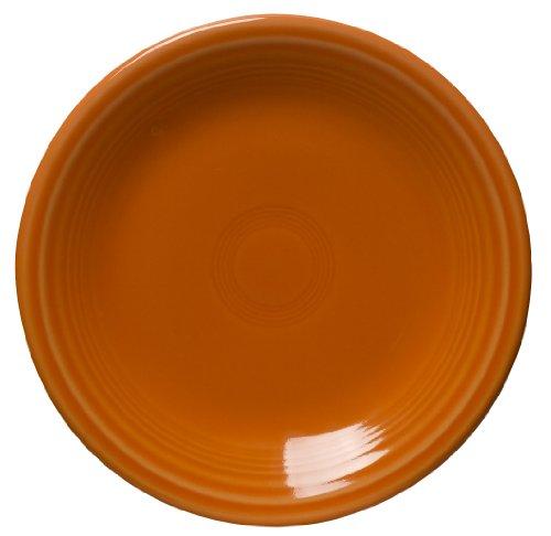 Fiesta 7-14-Inch Salad Plate Tangerine