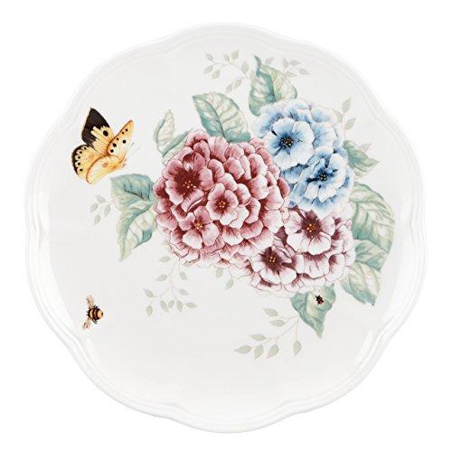 Lenox Butterfly Meadow Hydrangea AccentSalad Plate White