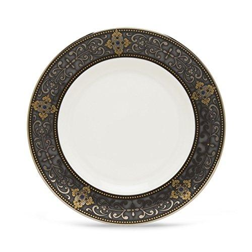 Lenox Vintage Jewel Platinum Banded Bone China Salad Plate