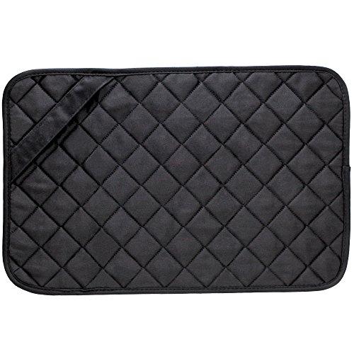 Envision Home 422300 Trivet Mat 11 by 17-Inch Black