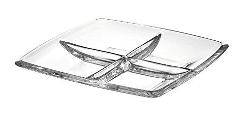 Majestic Gifts AE63236 European Glass Square Relish Dish 11