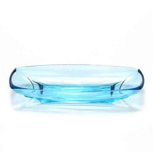 Relish Dish Glass Aqua