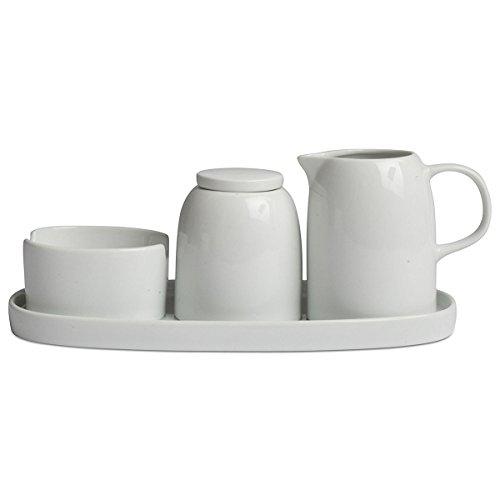Tag 203216 Coffee Serving Set  White