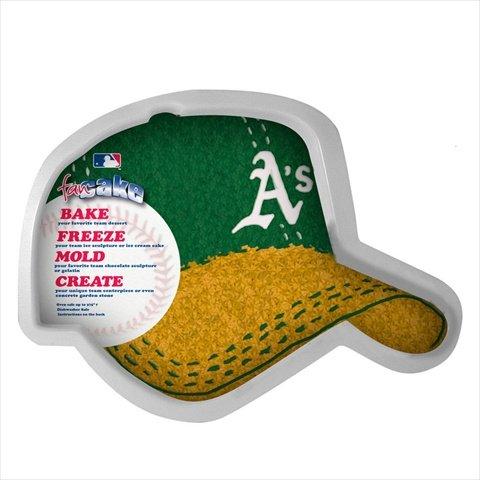 MLB Oakland Athletics Fan Cakes Heat Resistant CPET Plastic Cake Pan