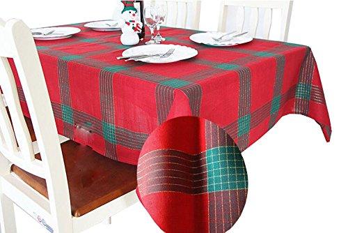 BAGIRL Modern Gold Silk Tablecloth Christmas Square Tablecloth Christmas Table Flag Birthday Party Tablecloth