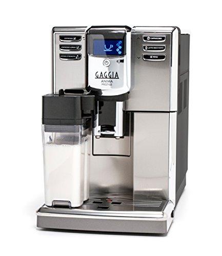 Gaggia Anima Prestige Automatic Coffee Machine Super Automatic Frothing for Latte Macchiato Cappuccino and Espresso Drinks with Programmable Options