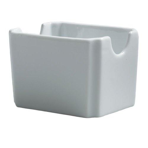 Steelite 6900E525 Varick Cafe Porcelain Sugar Packet Holder - 12  CS