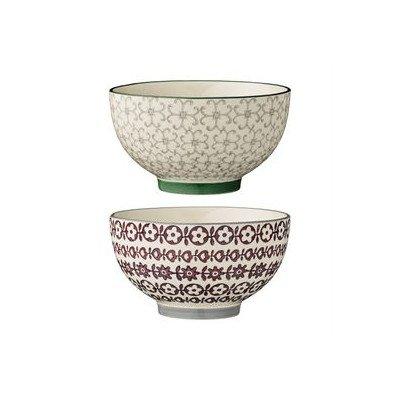 2 Piece Ceramic Bowl Set