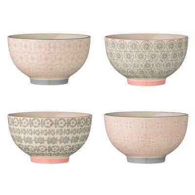 4 Piece Ceramic Bowl Set