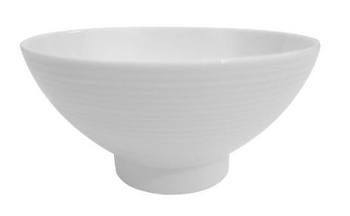 CAC China SHA-43 Sushia 3-34-Inch Super White Porcelain Rice Bowl Box of 36