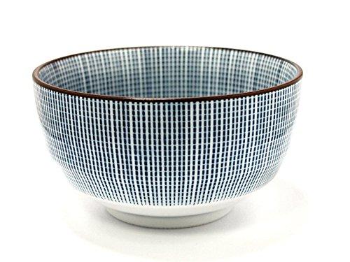 SENDAN-TOGUSA Jiki Japanese Porcelain Rice-Bowl for UDONTERIYAKI-BOWL made in JAPAN