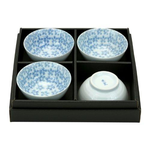 Japanese Decorative Porcelain salad bowl set of 4