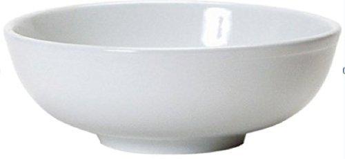 Soup Bowls - 2 White Porcelain Ceramic Vietnamese Pho Japanese Ramen Noodles Menudo Pasta Popcorn Fruit Dessert Serving Dishes