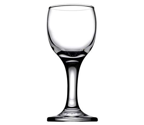 Bistro Cordial Liqueur Extra Mini Glasses 2 oz 60 cc - Set of 6