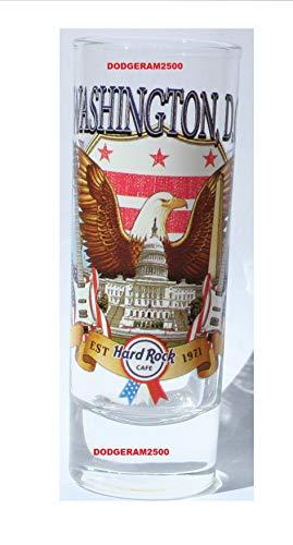 Hard Rock Cafe Washington DC ~ City t-Shirt V17 Shot Glass Cordial New