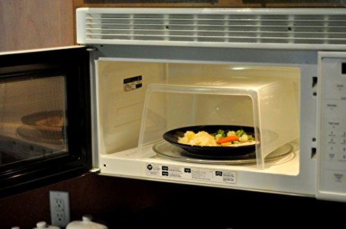 Microwave Safe Guard Splatter Splash Plate Cover