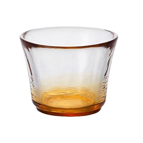 Glass Sake Cup Autumn Field
