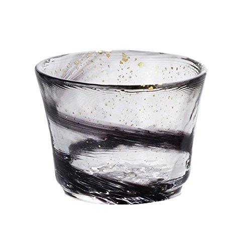 Glass Sake Cup Night Wind