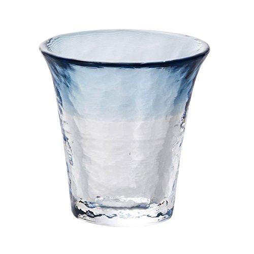 Glass Sake Cup Sea Fog