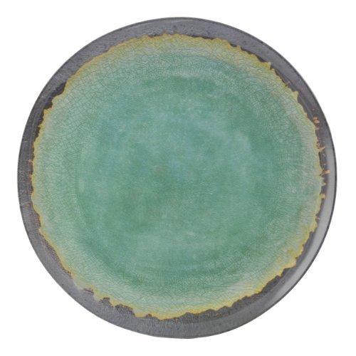 Merritt Natural Elements 11-inch Melamine Dinner Plate Turquoise Set of 6