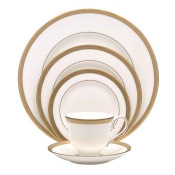 Lenox Landmark Gold Bone China Dinner Plate