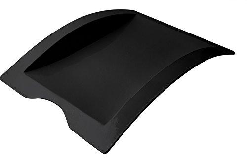 Bon Chef 70016BLK Futura Aluminum Platter 23-34 Length x 17-34 Width Black