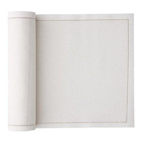 Linen Luncheon Napkin - 79 x 79 in - 20 units per roll - Cream