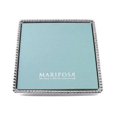 Mariposa Beaded Luncheon Napkin Box