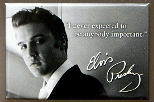 2x3 Elvis Presley Important Quote Retro Vintage Refrigerator Magnet
