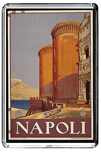 A171 NAPOLI FRIDGE MAGNET ITALY TRAVEL VINTAGE REFRIGERATOR MAGNET